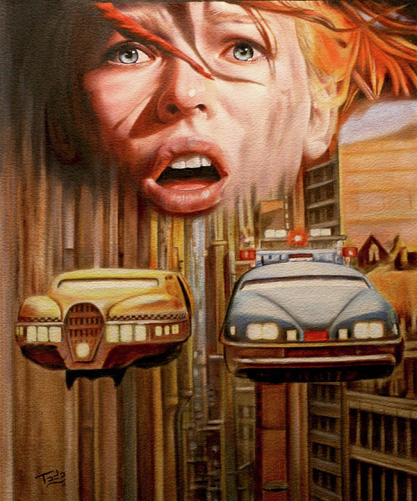 5th Art Print featuring the painting 5th Element Tribute by Todo Brennan