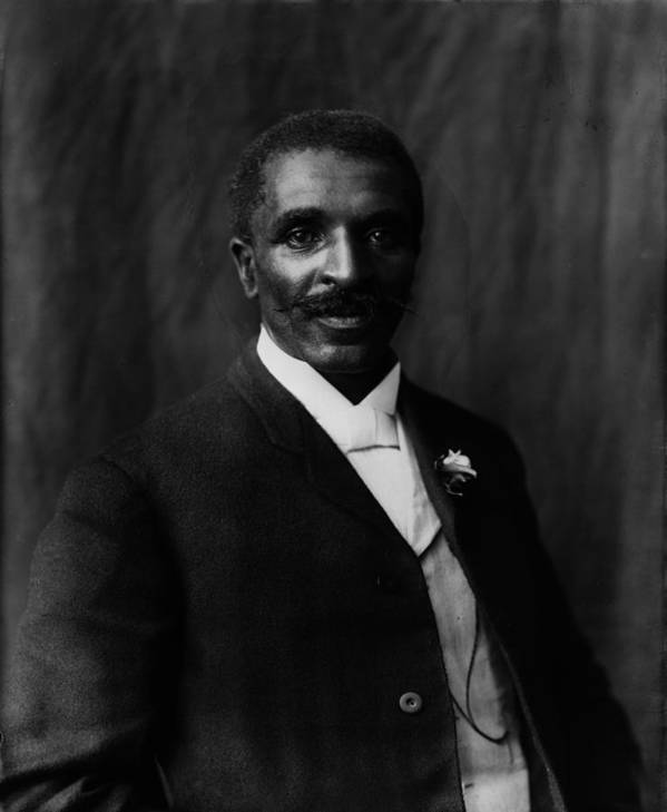 1900s Art Print featuring the photograph George Washington Carver 1864-1943 by Everett