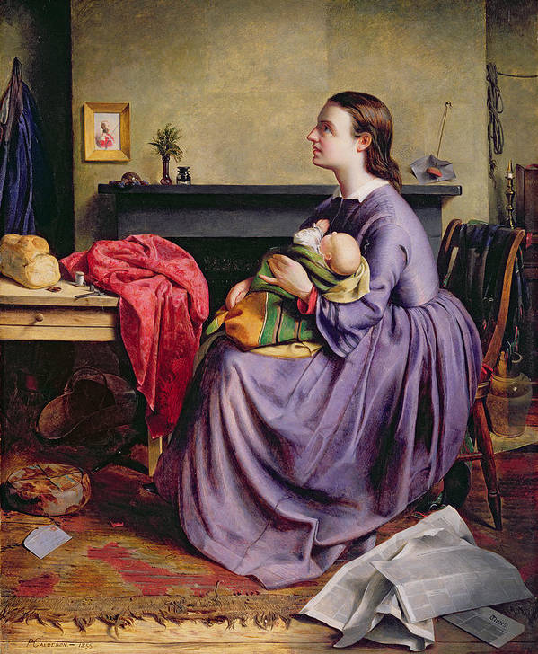 Lord Art Print featuring the painting Lord - Thy Will Be Done by Philip Hermogenes Calderon