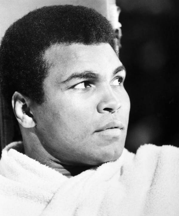 20th Century Art Print featuring the photograph Muhammed Ali (b. 1942) by Granger