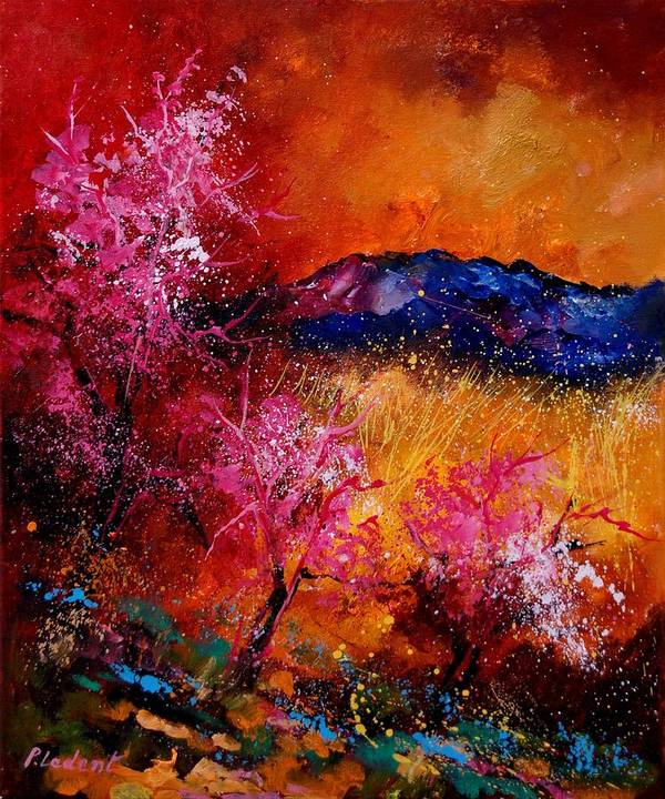 Provence Art Print featuring the painting Provence560908 by Pol Ledent