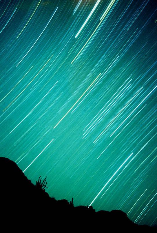 Photography Art Print featuring the photograph Baja Starry Night by Benjamin Garvey