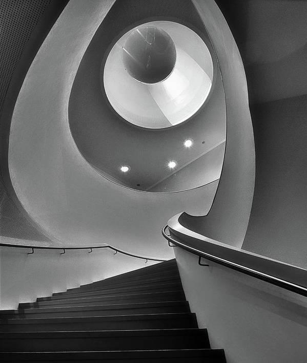 Den Bosch Art Print featuring the photograph Stair by Henk Van Maastricht
