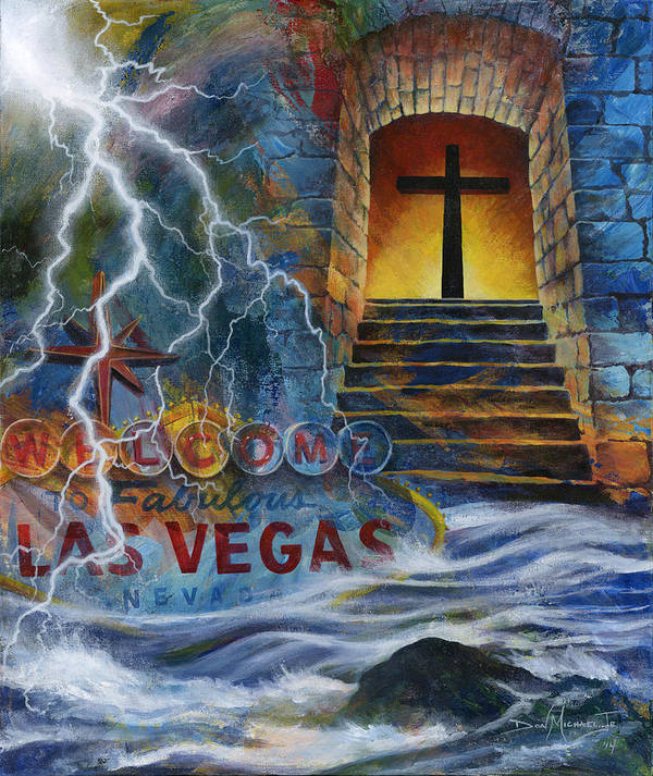 Grace Art Print featuring the painting The Gift Called Grace by Don Michael Jr