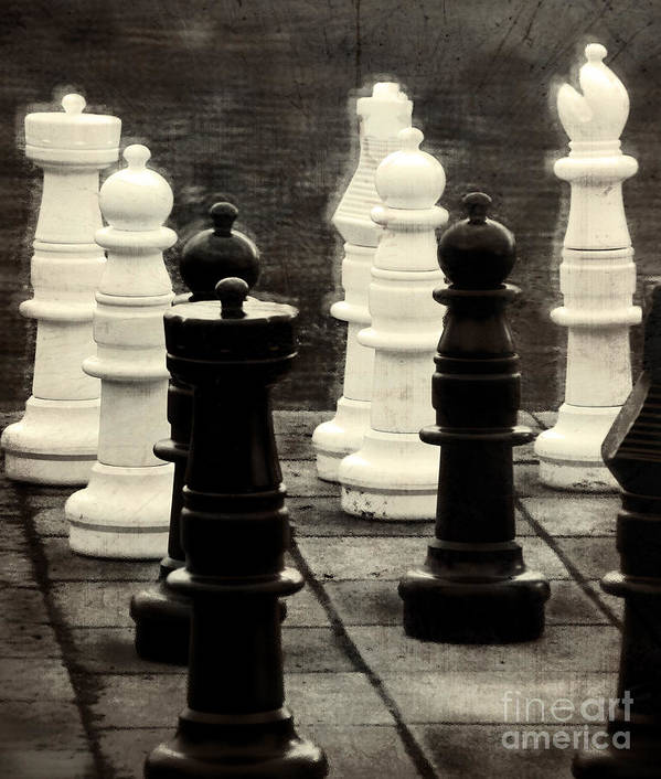 Chess Art Print featuring the photograph Your Move by Colleen Kammerer