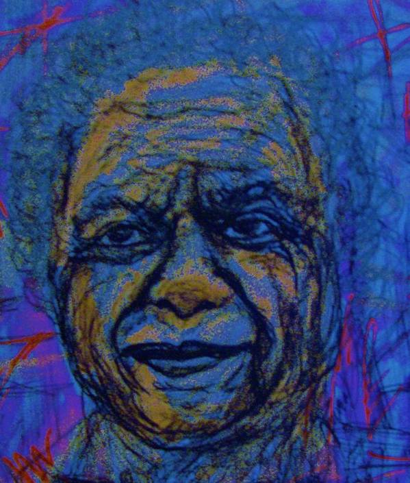 Artist Art Print featuring the drawing Pablo Picasso by Gerri Rowan