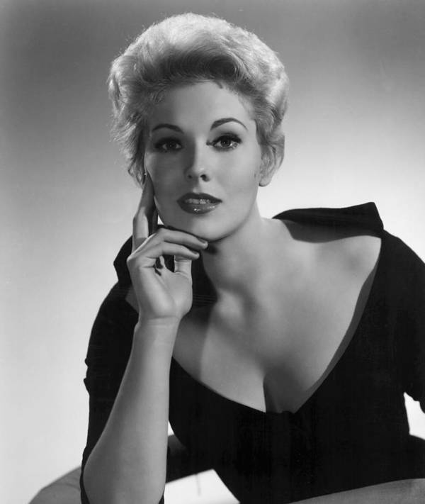 Black Dress Art Print featuring the photograph Kim Novak,1956 by Everett