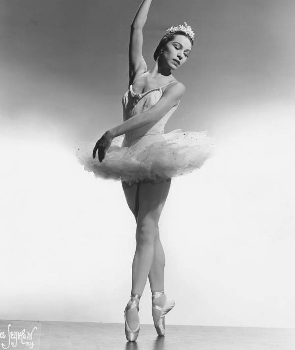 1950s Portraits Art Print featuring the photograph Maria Tallchief, Ballerina by Everett