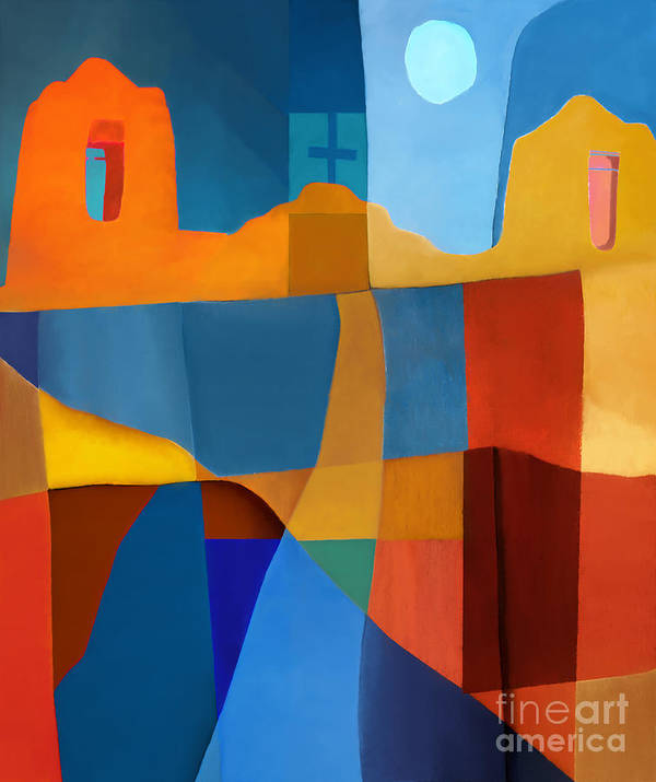 Abstract Art Print featuring the photograph Abstract # 2 by Elena Nosyreva