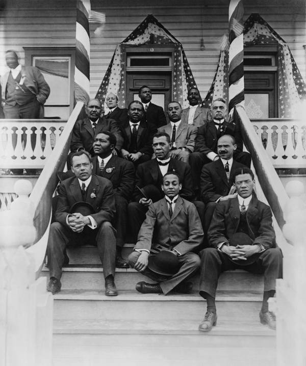 History Art Print featuring the photograph Booker T. Washington 1856-1915, Second by Everett