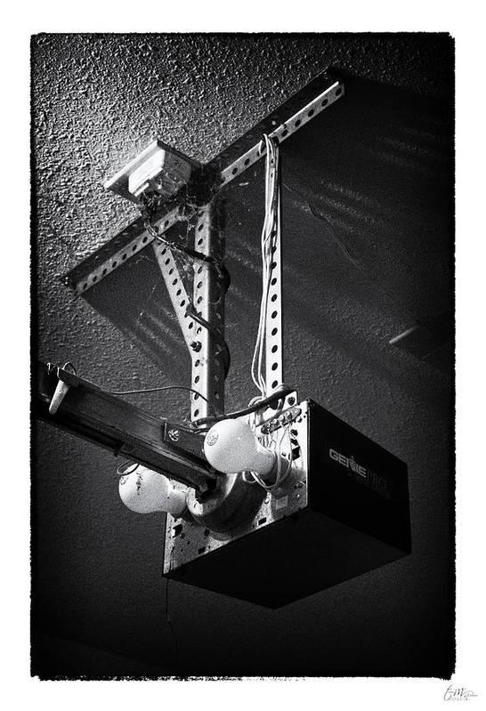 Grunge Art Print featuring the photograph Open Up - Art Unexpected by Tom Mc Nemar