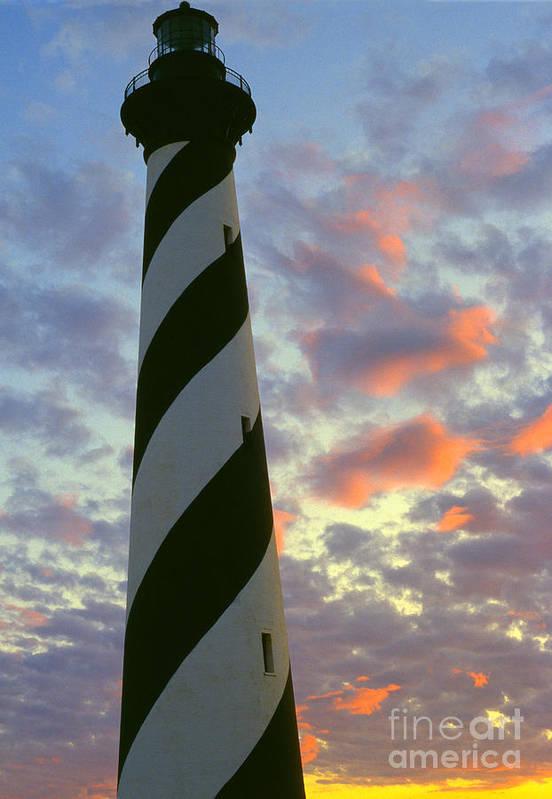 Cape Hatteras Lighthouse Art Print featuring the photograph Cape Hatteras Lighthouse by Thomas R Fletcher