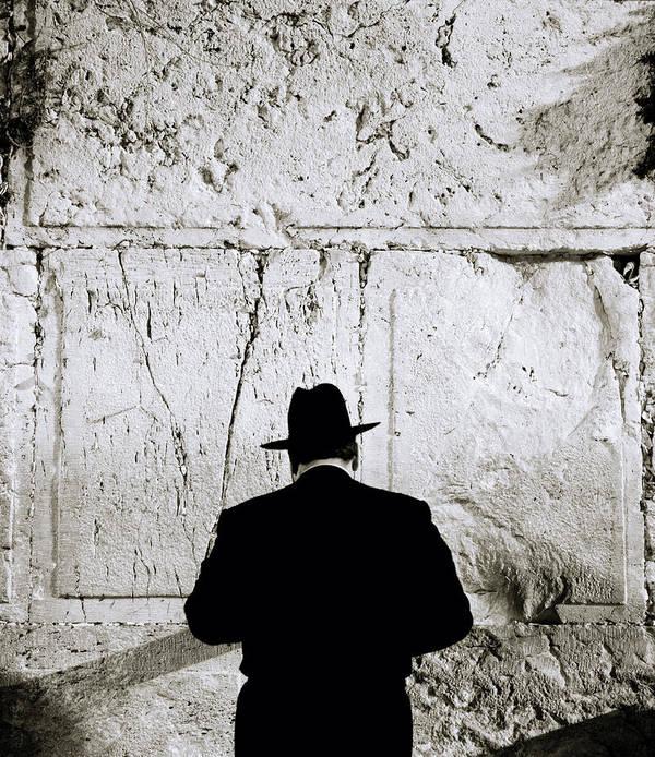 Jerusalem Art Print featuring the photograph Inspirational Prayer by Shaun Higson