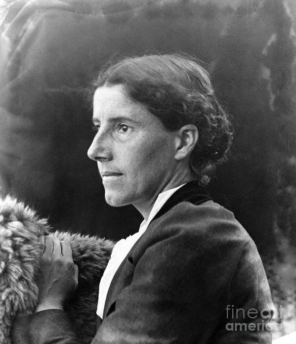1900 Art Print featuring the photograph Charlotte Perkins Gilman by Granger