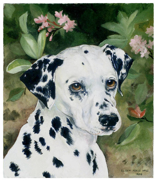 Portrait Art Print featuring the painting Beaudiddeley by Eileen Hale