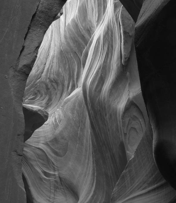Slot Art Print featuring the photograph Lower Antelope Canyon 2 7946 by Bob Neiman