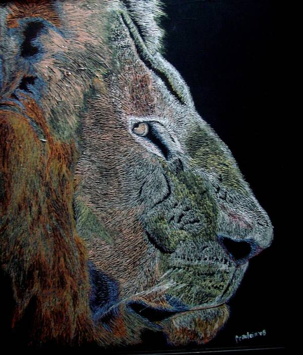 Animals Art Print featuring the painting Misunderstood by Glory Fraulein Wolfe