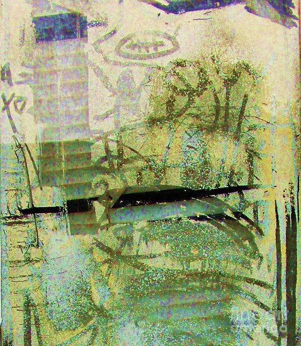 Reflection Art Print featuring the photograph Painted Reflections by Anne McDonald
