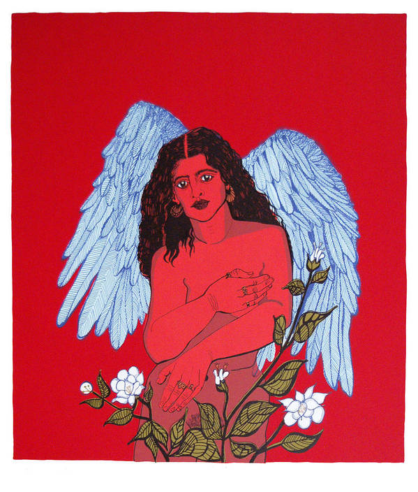 Mirta Toledo Art Print featuring the print Renacimiento by Mirta Toledo