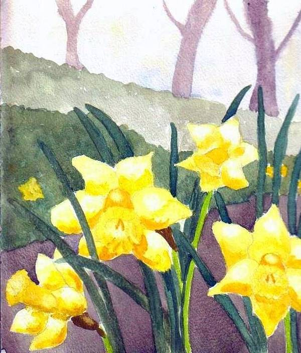 Spring Art Print featuring the painting Spring by Jacqui Kilcoyne
