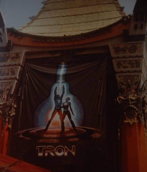 Grumanns Chinese Theater Art Print featuring the photograph Tron by Rob Hans