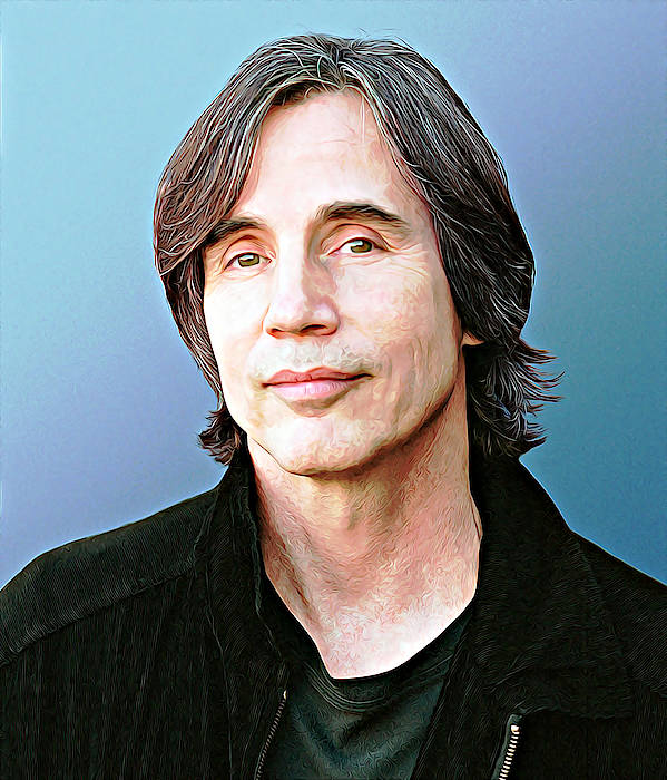 Jackson Browne by Queso Espinosa