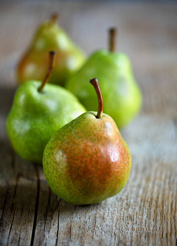 Pear Art Print featuring the photograph Pears by Nailia Schwarz