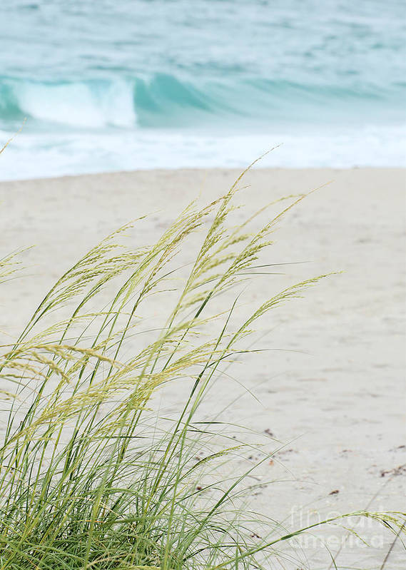 Landscape Art Print featuring the photograph By The Sea by Sabrina L Ryan