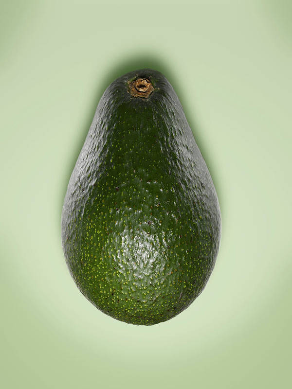 Avocado Art Print featuring the photograph Avocado by Adrian Burke