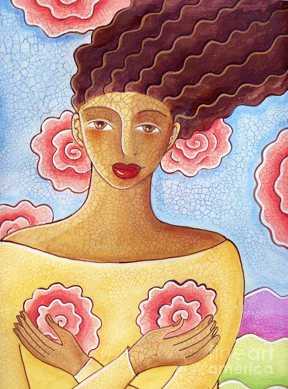 Figurative Art Print featuring the painting Dreams by Elaine Jackson