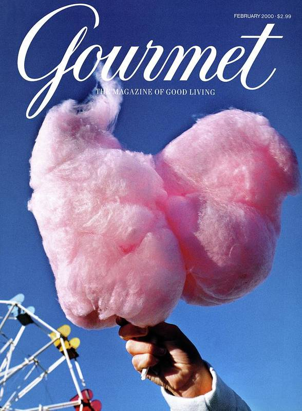 Entertainment Art Print featuring the photograph Gourmet Magazine Cover Featuring Hand Holding by Kristine Larsen