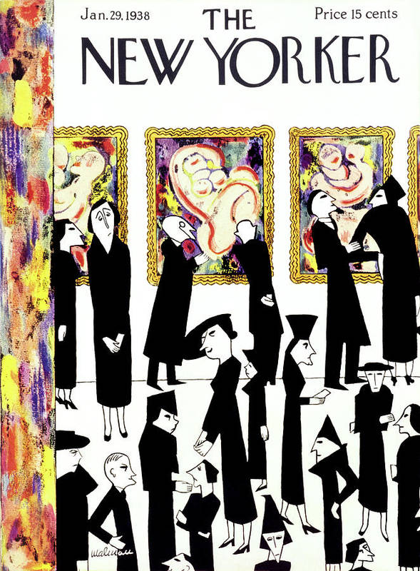 Art Art Print featuring the painting New Yorker January 29 1938 by Christina Malman