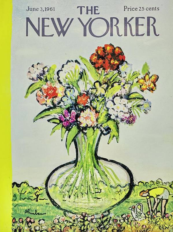 Illustration Art Print featuring the painting New Yorker June 3rd 1961 by Aaron Birnbaum