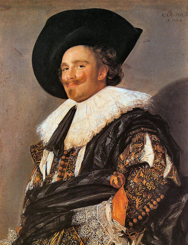 The Laughing Cavalier Art Print by Frans Hals