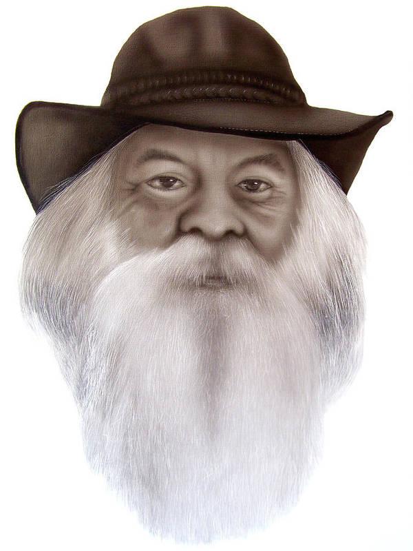 Portrait Art Print featuring the painting Lyle by Brett McGrath