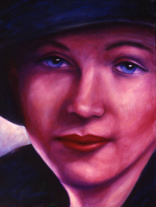 Woman Art Print featuring the painting Maria by Shannon Grissom