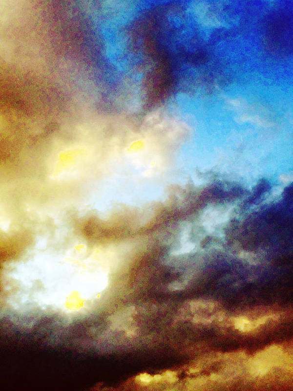 Summer Art Print featuring the photograph Clouds by Flavien Gillet