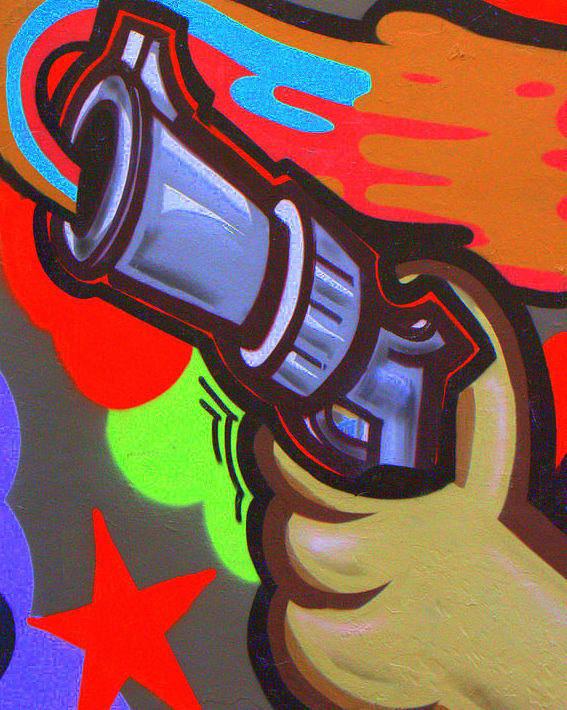 Gun Art Print featuring the digital art Gun by Darren Common