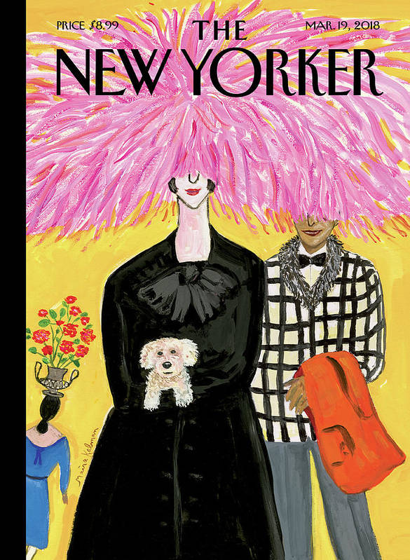 In Full Bloom Art Print featuring the painting In Full Bloom by Maira Kalman