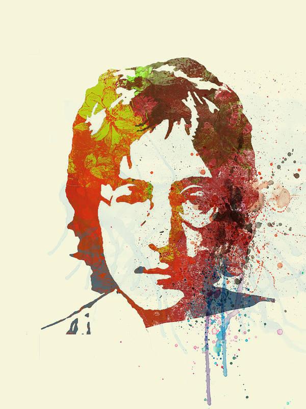Art Print featuring the painting John Lennon by Naxart Studio