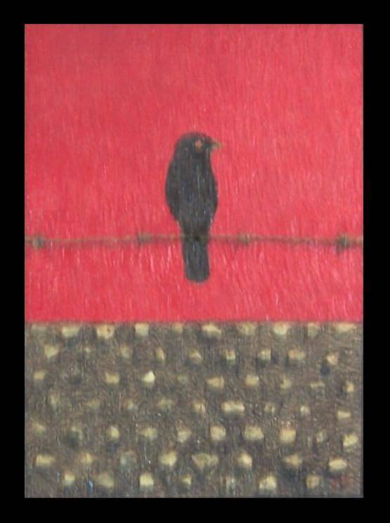 Berlin Wall Art Print featuring the painting Last Standoff by Anneliese Fritts