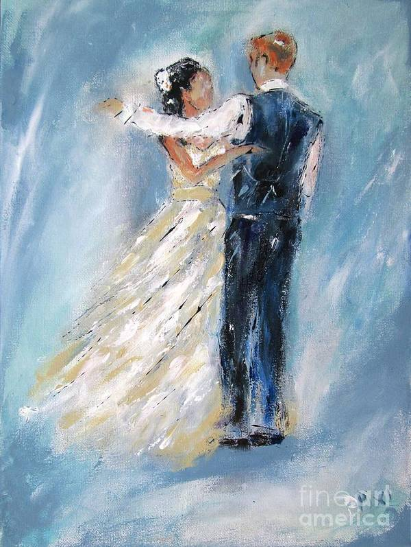 Elegant couple, bride and groom 2015  by Mary Cahalan Lee- aka PIXI