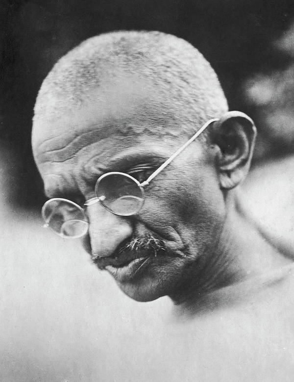 Mahatma Gandhi Art Print featuring the photograph Mohandas K. Gandhi by Time Life Pictures