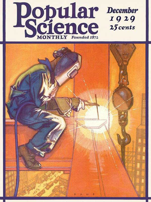 Expertise Art Print featuring the photograph Popular Science Magazine Covers by Popular Science