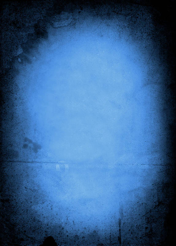 Burnt Art Print featuring the photograph Blue Drama by Thepalmer