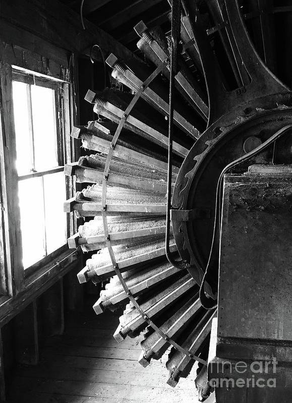 Patterson-altman Mill Art Print featuring the photograph Dust Collector by Megan Cohen