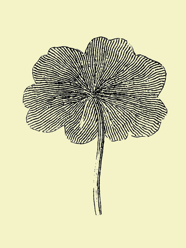 Leaf Art Print featuring the mixed media Floating Leaf II by Naxart Studio
