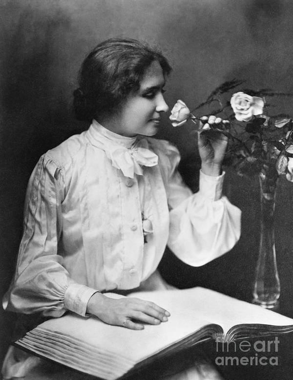 People Art Print featuring the photograph Helen Keller by Bettmann