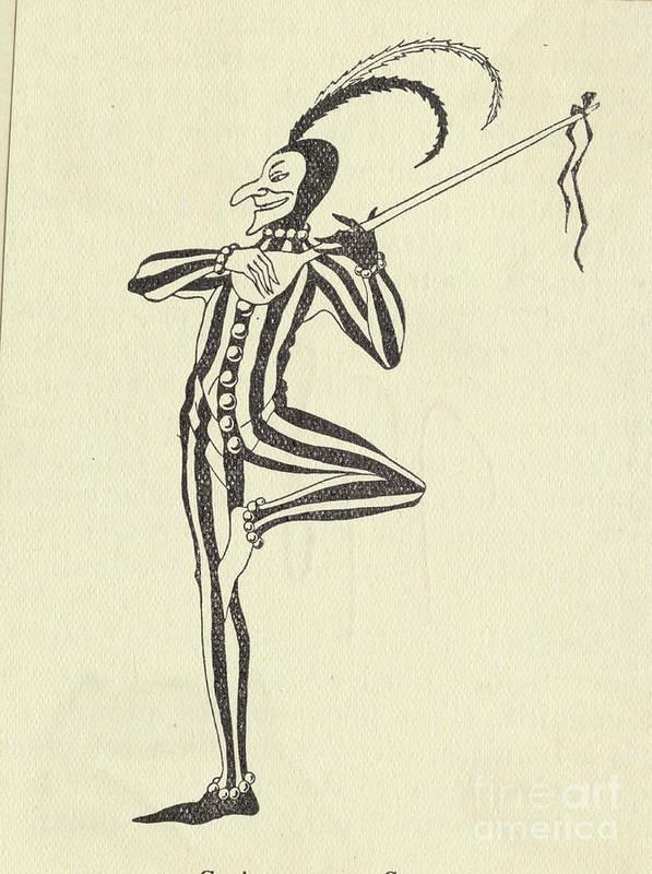 People Art Print featuring the photograph Illustration Of A Humorous Casanova by Bettmann