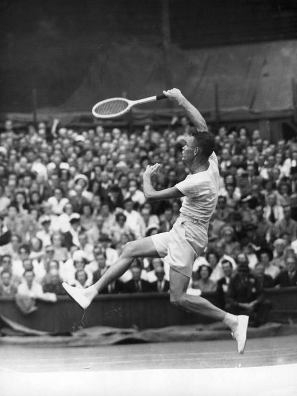 Tennis Art Print featuring the photograph Jack Kramer by Douglas Miller